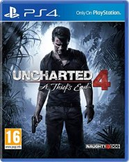 Uncharted 4: A Thief's End для PS4