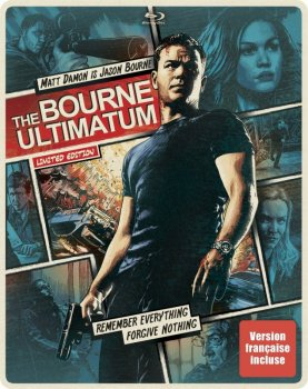 Ультиматум Борна / The Bourne Ultimatum (2007) HDRip от Scarabey | D | Open Matte