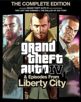 Grand Theft Auto IV: The Complete Edition (2010-2020) xatab
