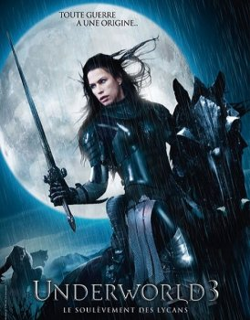 Другой мир: Восстание ликанов / Underworld: Rise of the Lycans (2009) WEB-DLRip-AVC | D | Open Matte