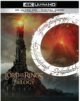 Властелин колец: Трилогия / The Lord of the Rings: Trilogy (2001-2003) UHD BDRip 2160p | 4K | HDR | Dolby Vision Profile 8 | D, P